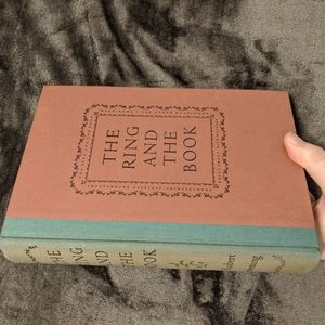 Robert Browning 1949 The Ring and the Book boxed